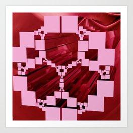 variation on Apollonian Gasket -2- Art Print
