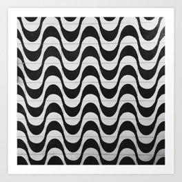 Rio Tile Pattern Art Print