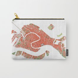 Venice city map classic Carry-All Pouch