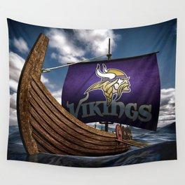 Viking Ship Wall Tapestry