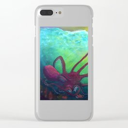 Grasping from the Deep Clear iPhone Case