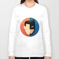 heroes Long Sleeve T-shirts featuring Heroes by Evan Gaskin