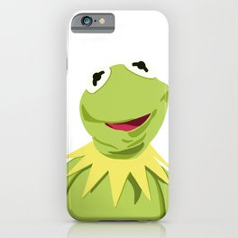 Kermit - The Optimistic Frog iPhone Case