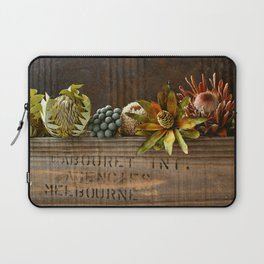 Still Life Australian Native Flowers Laptop Sleeve