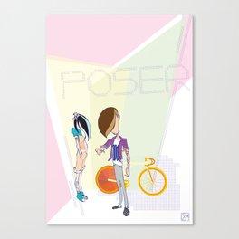 Poser - Fix Canvas Print