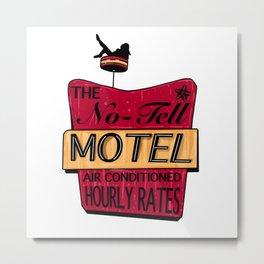 No-Tell Motel Metal Print