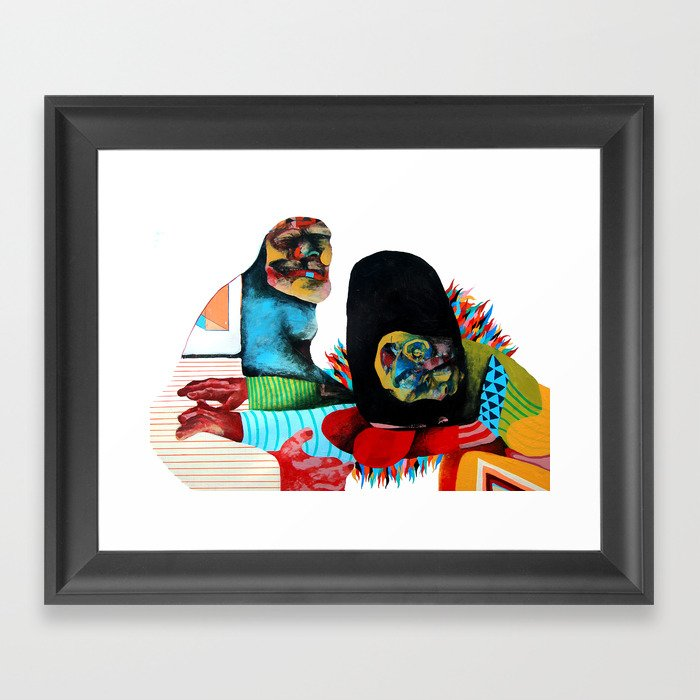 We all need someone we can Lane on Framed Art Print