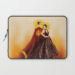 Fire Nation's Royal Siblings Laptop Sleeve