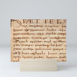 Beowulf  Mini Art Print