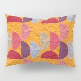 Pattern orange red rose 2 Pillow Sham