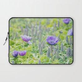 Poppy Anemone Laptop Sleeve