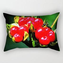 Arctic bramble 1 Rectangular Pillow