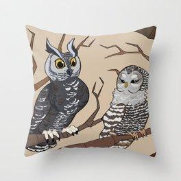 Owl!Bokuaka Throw Pillow