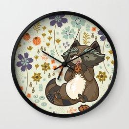 Free & Wild 3 Wall Clock