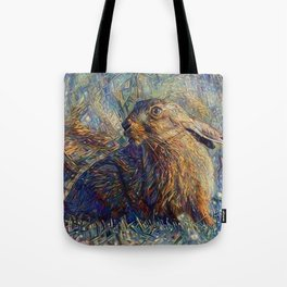 Hare Raising Tote Bag