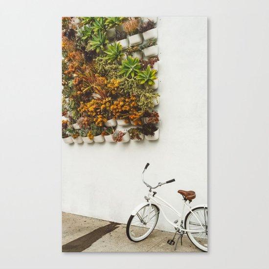 San Diego Sidewalk Canvas Print