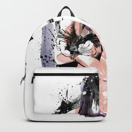 Shibari - Japanese BDSM Art Painting #9 Backpack