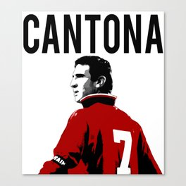 Manchester United Cantona Canvas Print