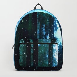 Fireflies Night Forest Backpack