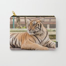 Post Playtime Rest, Indo-china Tiger Carry-All Pouch