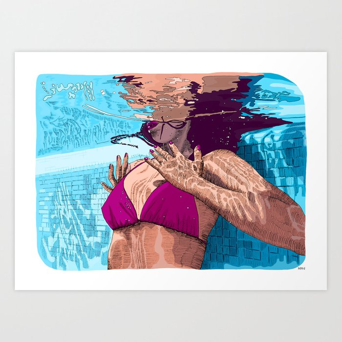 Discover the motif SLOW DOWN by Suzie-Q as a print at TOPPOSTER