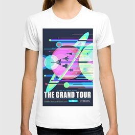 The Grand Tour : Vintage Space Poster Cool T-shirt
