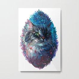 Hanna Galactic Kitten Metal Print