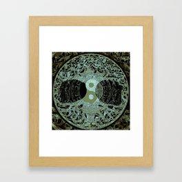 Melodic Mandala Framed Art Print