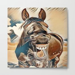 Laughing Jack Metal Print