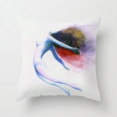 Wave of Love Throw Pillow