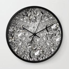 My brain is full of Wall Clock