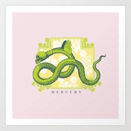 Crucified Serpent Art Print
