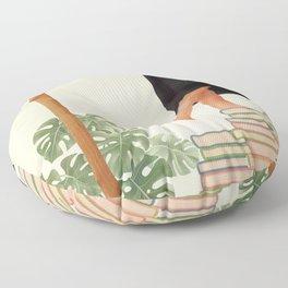 Books Floor Pillow
