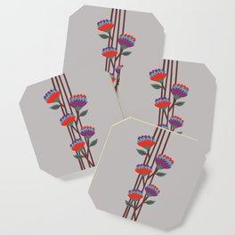 Émile Flowers Coaster