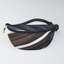 patched stripes Fanny Pack