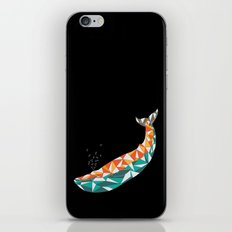 For the Love of Whales iPhone Skin