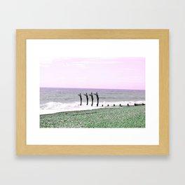 11/ Jump In by Chloe Muncey Framed Art Print