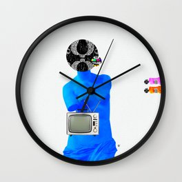 Statue Life TV · Blue Sunday Wall Clock