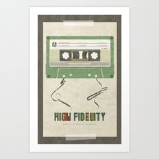 High Fidelity Art Print