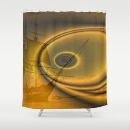 Then the storm came Shower Curtain