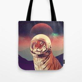Cosmos Cat Tote Bag