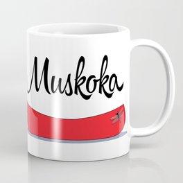 Muskoka Canoe Coffee Mug