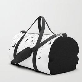 Kennah's Dream in Black and White Duffle Bag