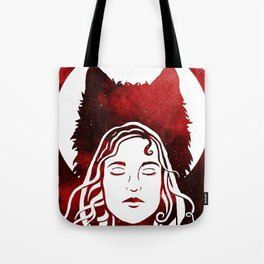 Scarlet and the Wolf Tote Bag