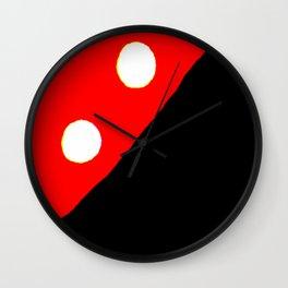 Kuhl's Kit Kat Klub: Polka-Dotted & Quartered Wall Clock