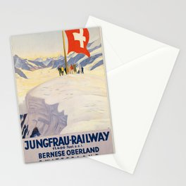 Vintage poster - Switzerland Stationery Cards