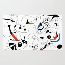 Joan Mirò #5 Rug