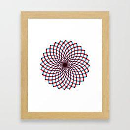 For when you feel dizzy Framed Art Print