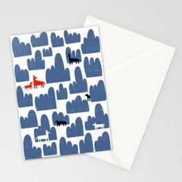 Animal World Stationery Cards