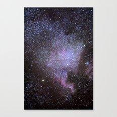 North American Nebulae. The Milky way. North America Nebula Canvas Print